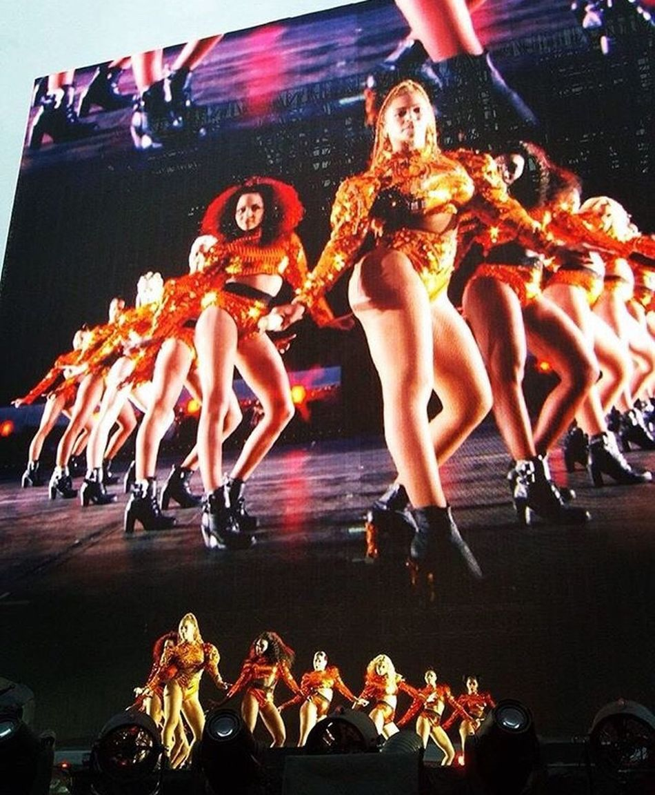 Beyonce Formation Tour Star Beautiful Woman 2016