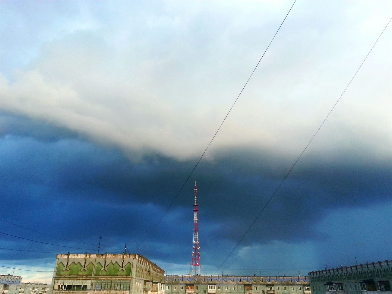 🌆☁⛅ Taking Photos View City Clouds Sky Breathtaking Summerdays  Storm Lightning Storm Levin