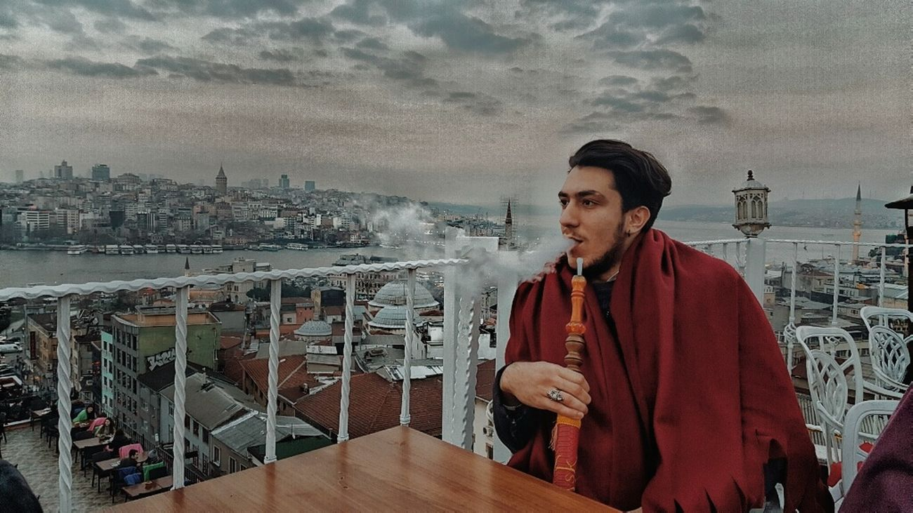Istanbul Istanbul Turkey Istanbuldayasam Waist Up One Person Only Men One Man Only Cloud - Sky Adults Only Urban Skyline Cityscape Young Adult Outdoors City Adult People Day Sky Photomodel Fotomodel Fit Life  Galatakulesi City Night ıstanbul, Turkey