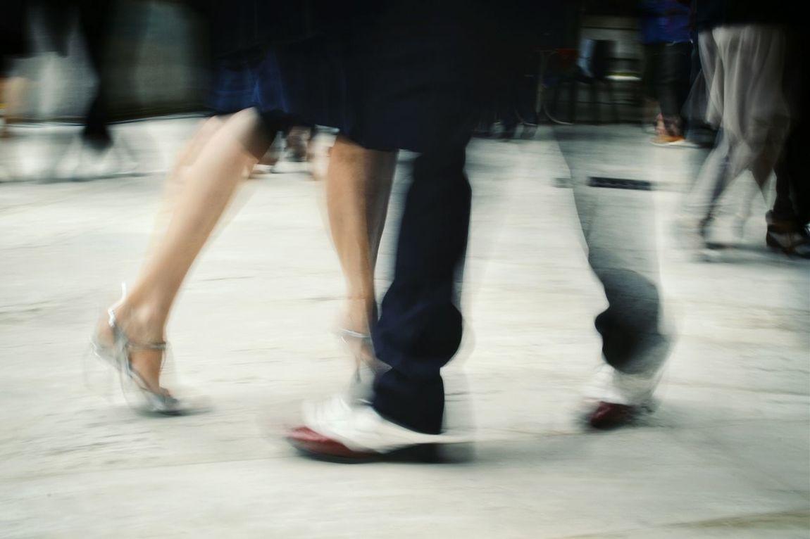 Milongueando series Tango Tango Streetdancing Tangoargentino Dance Dancer Dance Photography Streetphotography Street Photography Long Exposure The Street Photographer - 2016 EyeEm Awards Streat Close Up Street Photography Legs Movements Stop Motion Finding New Frontiers