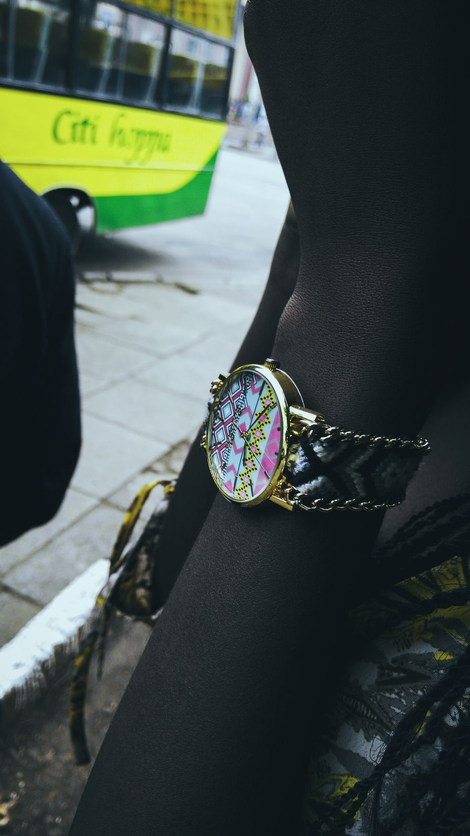 Outdoors Human Hand Day Canon EyeEm Land Vehicle City Real People EyeEm Gallery Africa Close-up Vintage Detail Textured  Fashion Canon_camera Streetphotography Colors Human Body Part Wrist Watch