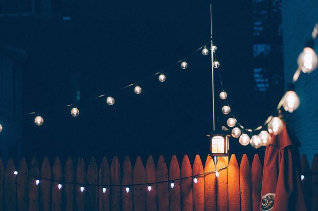I know patio season is coming to an end but please leave the lights up all year long. Night Lights Nightphotography First Eyeem Photo