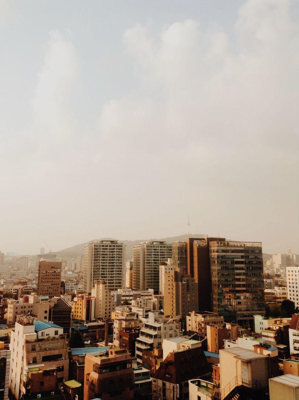 iPod touch 5 captured. Seoul Korea. Good morning! Seoul Korea Travel Traveling City VSCO IPhoneography