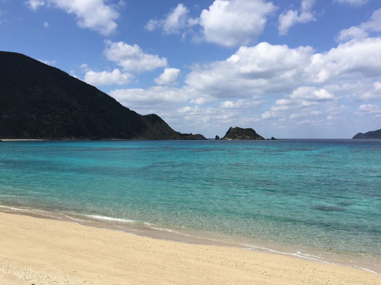 Sea Beach Tranquility Tranquil Scene Scenics Sky Beauty In Nature Idyllic Nature Water Cloud - Sky Sand Horizon Over Water No People Outdoors Travel Destinations Day Winter Sea Amami Island Kagoshima