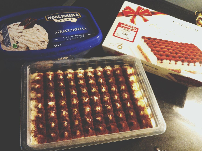 Straciatella Ice & Tiramisu :D<3 Food Porn Switzerland Dessert