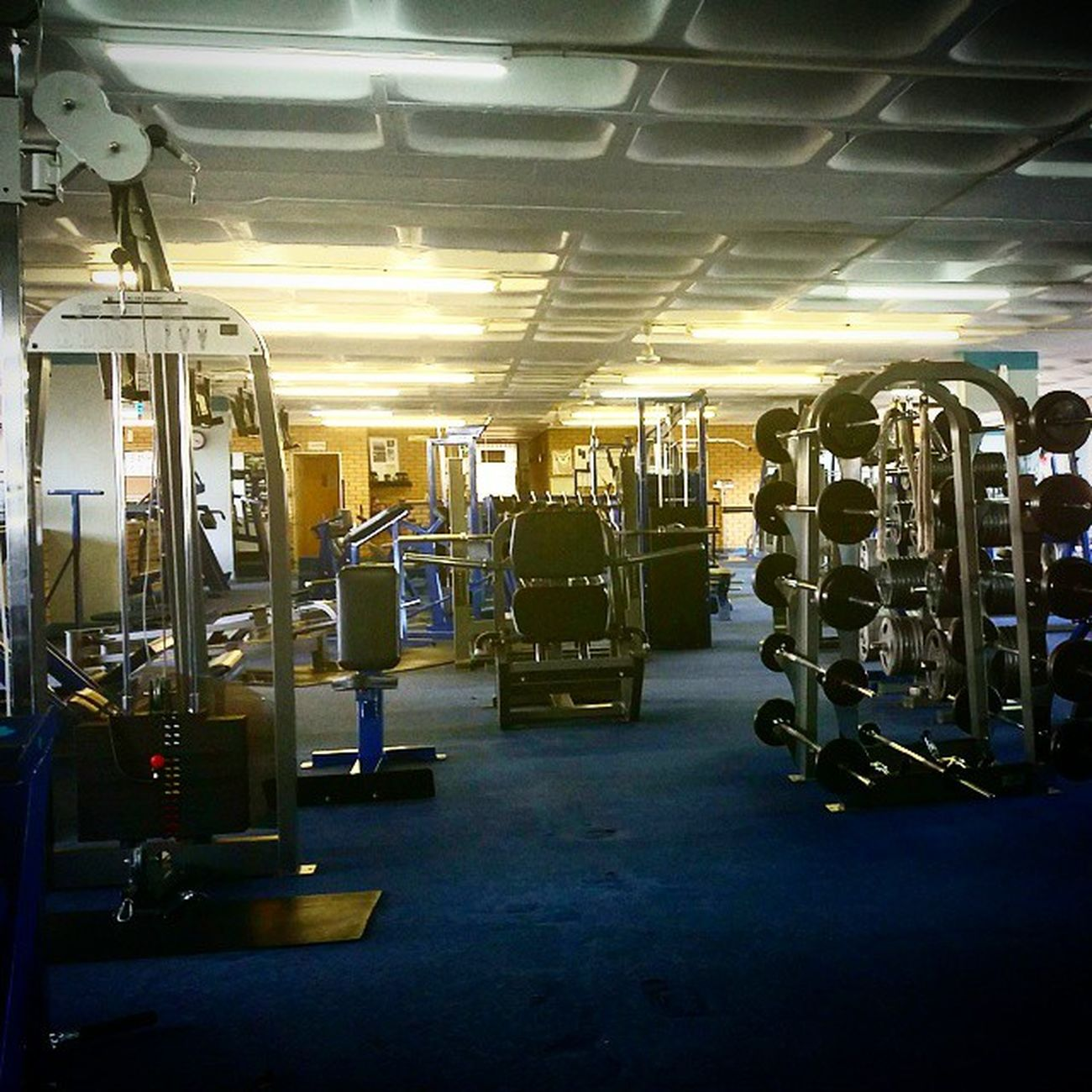Nice when you have the gym all to yourself Gym Fitness Gooddays Fit Betterdays Future Plans Progress Barbrothers Exercise