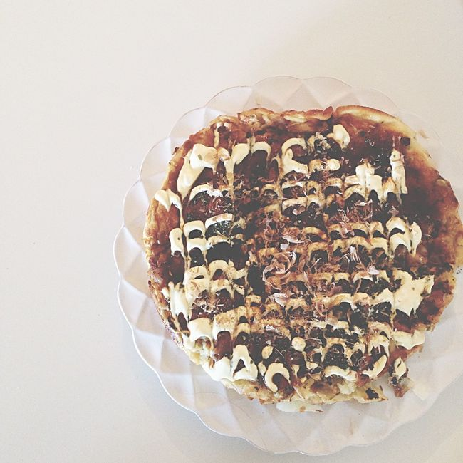 2枚目 お好み焼き 夫ごはん チーズ 入り♡✨ Japanesefood Okonomiyaki