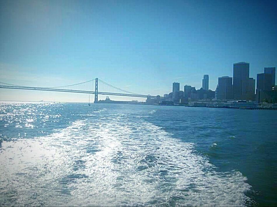 Original Bay Bridge Bridge Porn San Francico My Point Of View This Week On Eyeem San Francisco Bay Water Tourist Attraction  My Photography Nature Photography City Scape Landscape #Nature #photography