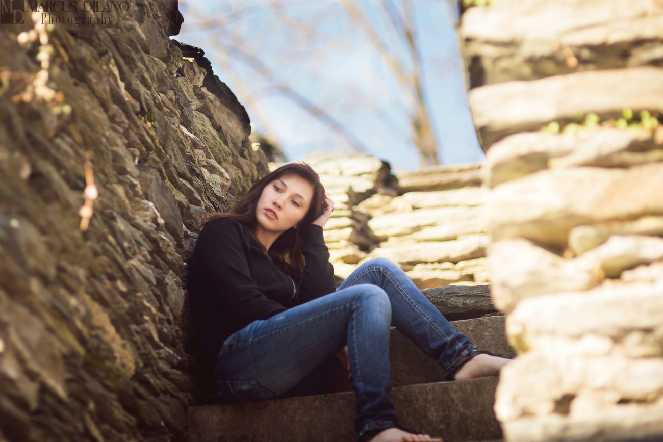 Lost in thought Ukrainian Girl Model Photoshoot Beauty Harpersferry Portrait Color Portrait Thoughts People Photography