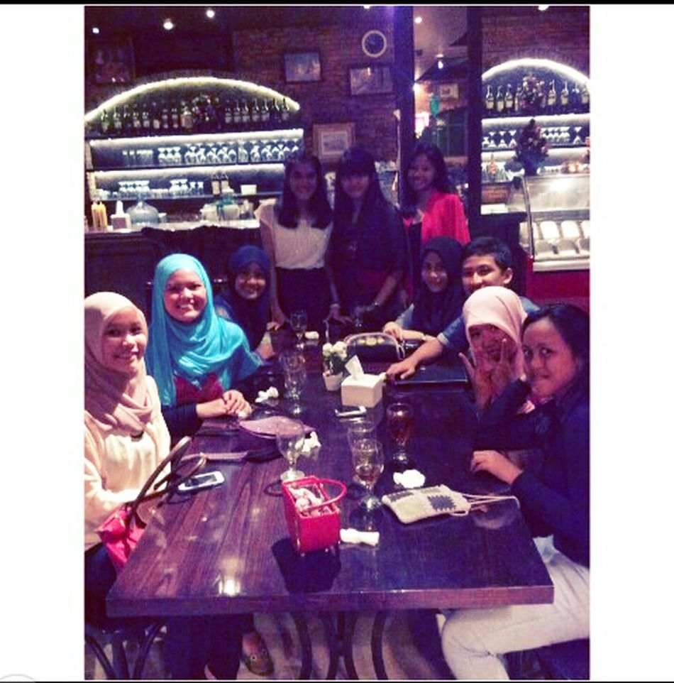 Nisa's Party lastnight with Geco :) we found our happiness when we can together. thanks so much gais finally we can meet up