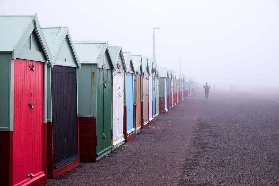 Adult Beach Brighton Brighton Beach Brighton Uk Brightonbeach Brightonbeachfront Day EyeEm New Here In A Row Jogging Jogging Time Misty Misty Morning Misty Mornings Multi Colored Outdoors People Running Running Late Sand Sea Mist Tourist Destination Tourist Resort