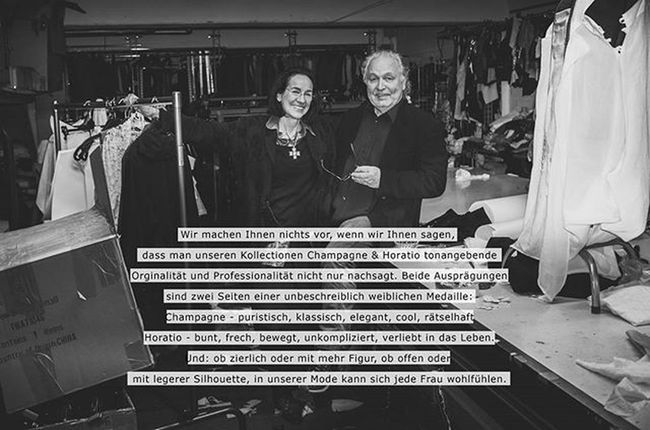 Here is a picture I took of my parents which was published in the catalog for their 2016 collection by Champagne-Horatio. Taken right in the fashion studio after production hours. Models: My Parents :) . . . Fashion Studio Fotography Igersfrankfurt Picoftheday Like4like Likeforlike Likelike Insta_inspiring_shots Instapic Instagood Portraitmood Portraitphotographer Portrait Portraits Frankfurt Picoftheday Champagne Horatio Parents Advertisement Production Madeingermany Label