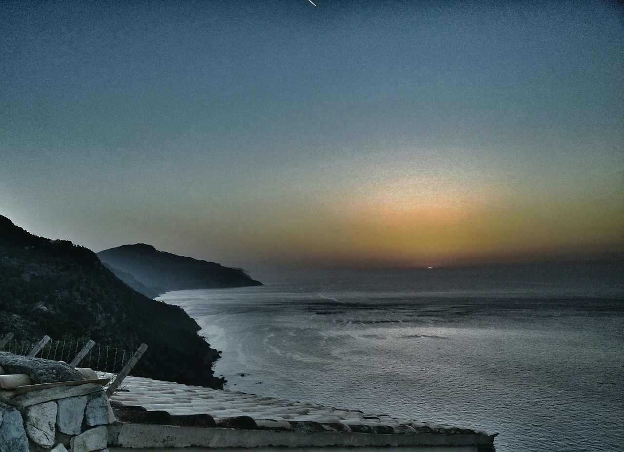 When the sun gives his last breath and dives into the Mediterranean Sea Sunset Landscape Nature Check This Out