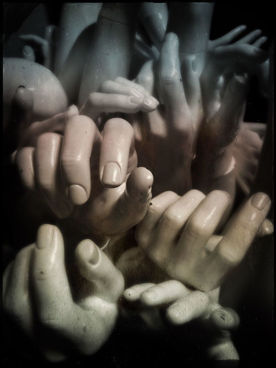 Human Body Part Human Hand Human Finger Togetherness Close-up Bonding Abstractions Hands Hands At Work Limbs Layers And Textures Mannequin Backgrounds Celebration Landscape