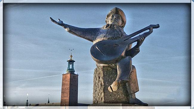 Enjoying The Sun Evert Taube Hdr_captures Stockholm Sweden Water