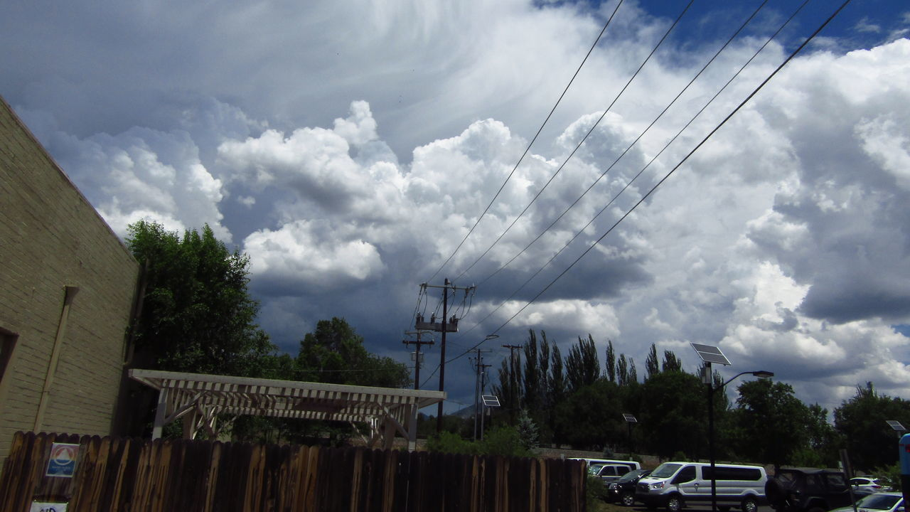 Showcase June Showcase June! Built Structure Cable City Cloud Cloud - Sky Cloudy Day Low Angle View Nature No People Outdoors Overcast Power Line  Power Supply Sky Town Travel Destinations Weather