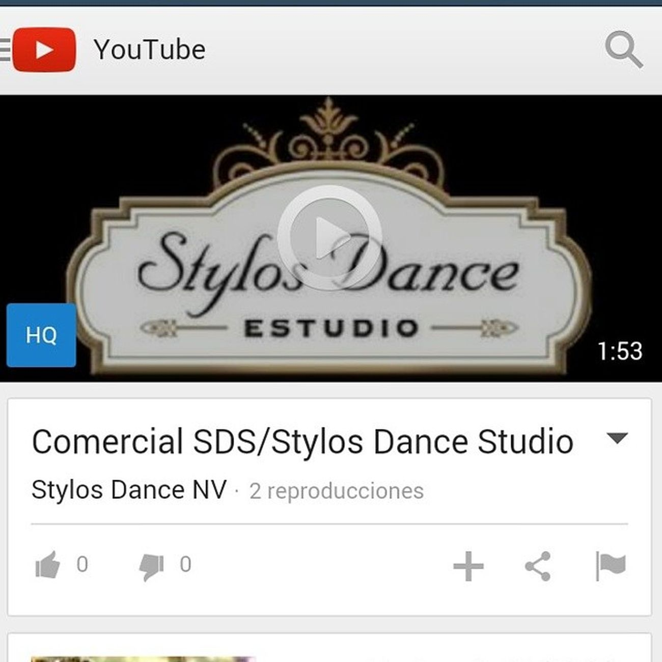 New video! YouTube channel:Stylos Dance NV ?????????? Sds Stylosdance Youtube