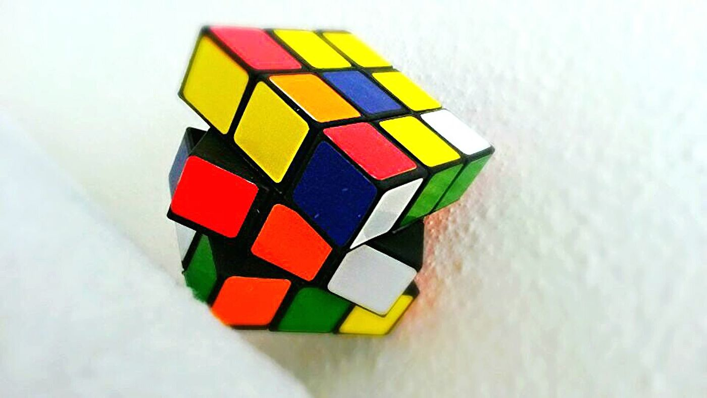 Cube Colorcube Housephotography Yellow Green Blue Red Orange White :) First Eyeem Photo