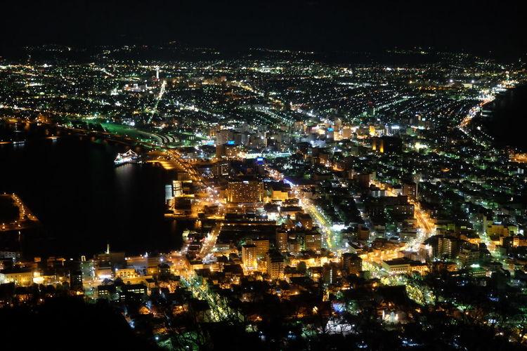 年末年始の帰省にて。 Night Lights Hakodate,Hokkaido,Japan Fujifilm First Eyeem Photo