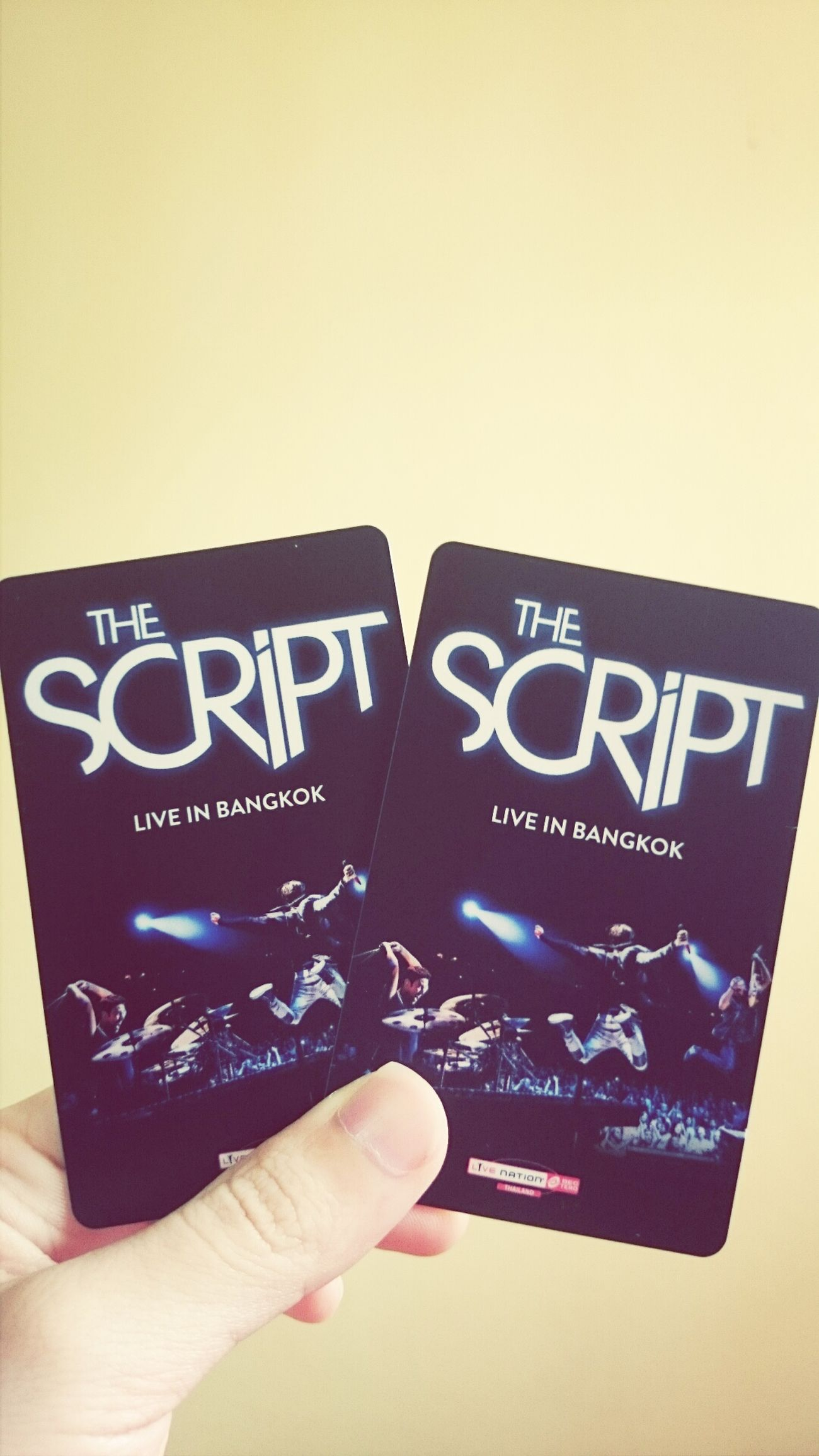 Going back to the corner where i first saw you Thescript Thescriptliveinbangkok Concert