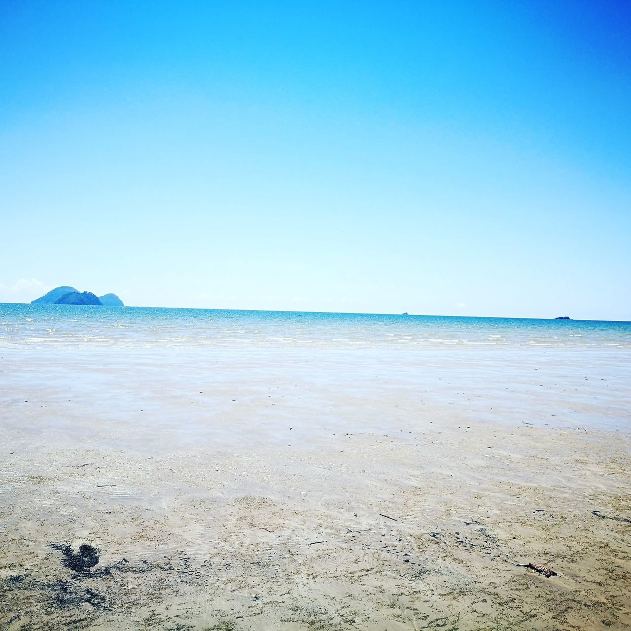 South China sea ,golden Beach Sea Sand Beach Beauty In Nature No People Day Sunny Blue Sky Water Nature Hello World Taking Photos Landscape View