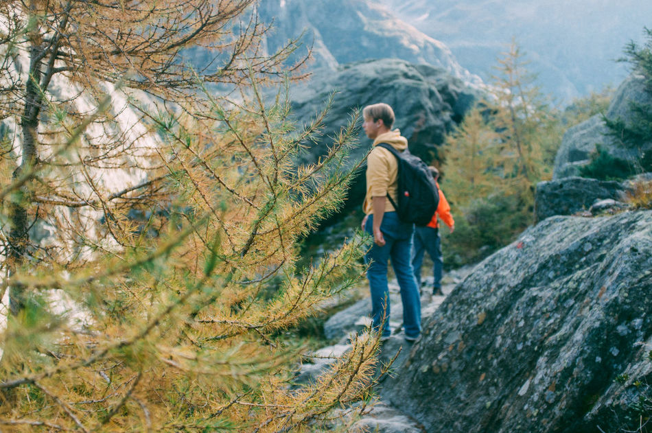 Beautiful stock photos of camping, Backpack, Blonde Hair, Day, Footpath