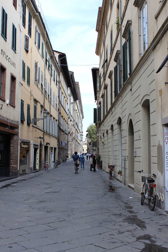 Old world streets Architecture Building Built Structure Composition Culture Exterior Historical Building Italy Lucca Narrow Outdoors Perspective Street Tuscanny