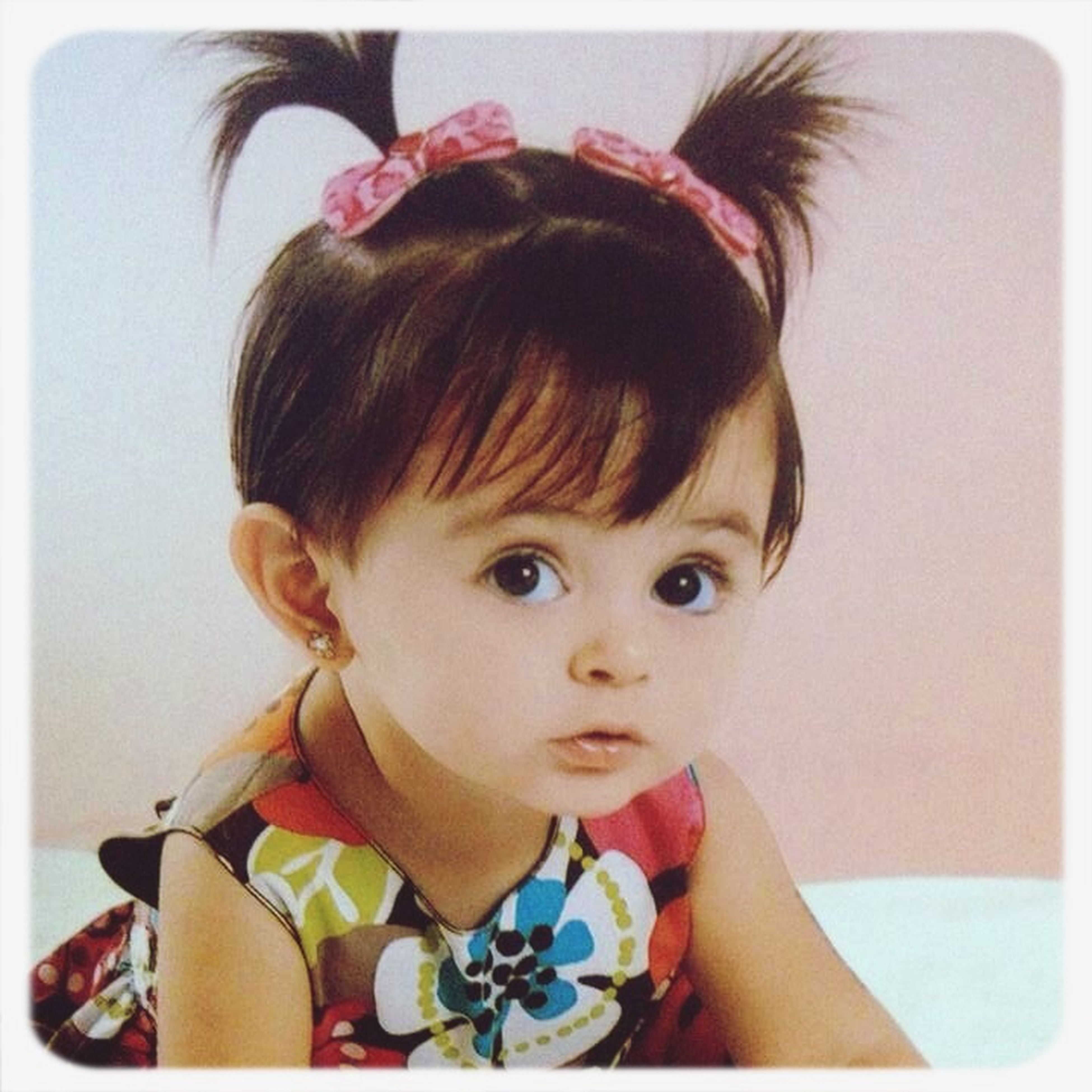 childhood, cute, elementary age, innocence, person, indoors, girls, transfer print, looking at camera, headshot, portrait, boys, lifestyles, leisure activity, front view, auto post production filter, close-up, babyhood