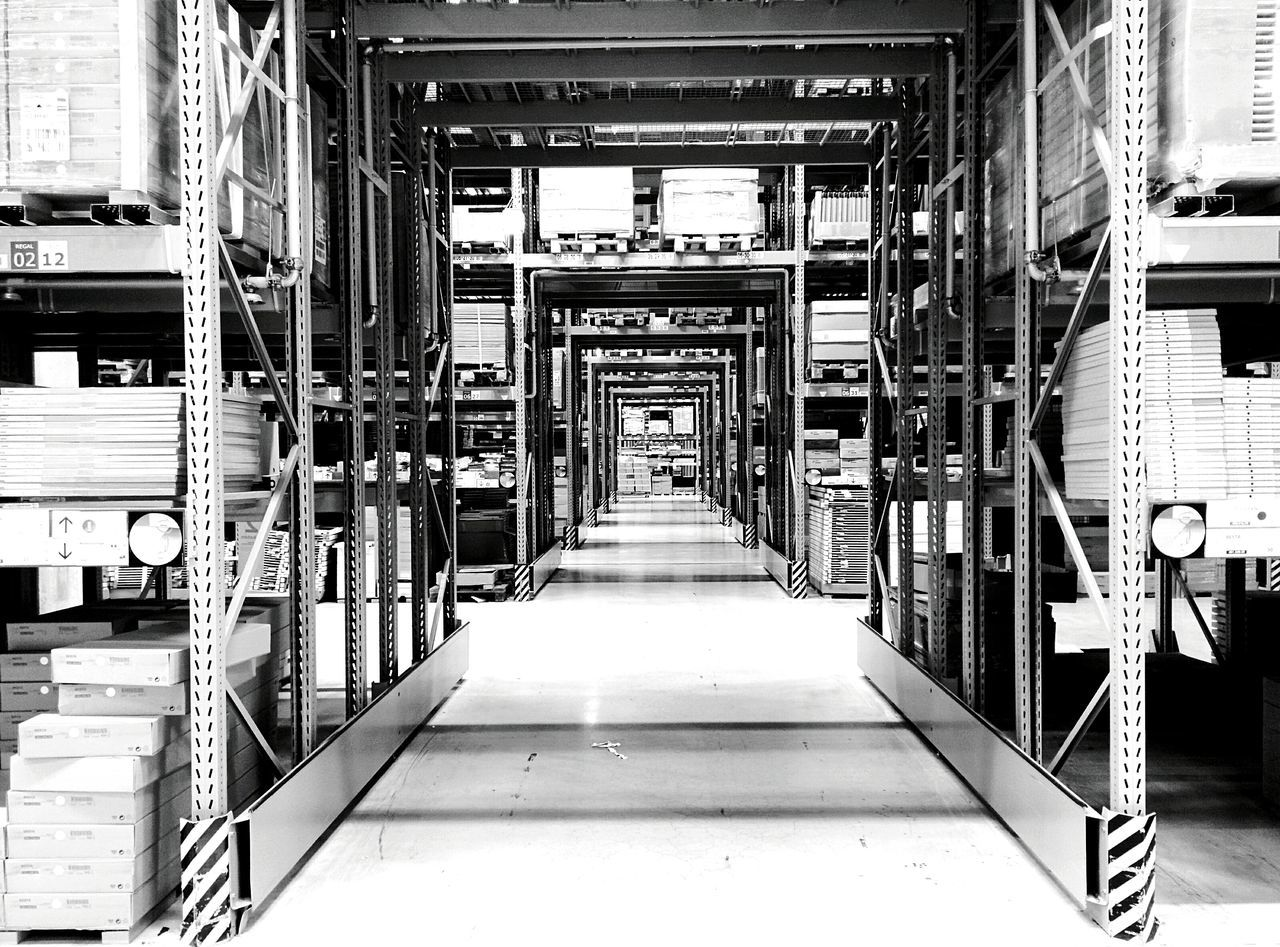 Day 103 - Ikea Shopping Berlin Blackandwhite 365project 365florianmski Day103