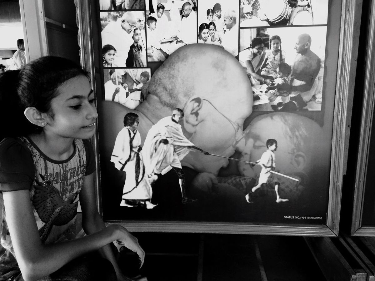 Mahatma Gandhi Gandhiji I Love Gandhiji Truth Love For Kids Father Of The Nation Black And White Black And White Photography Black And White Excellence