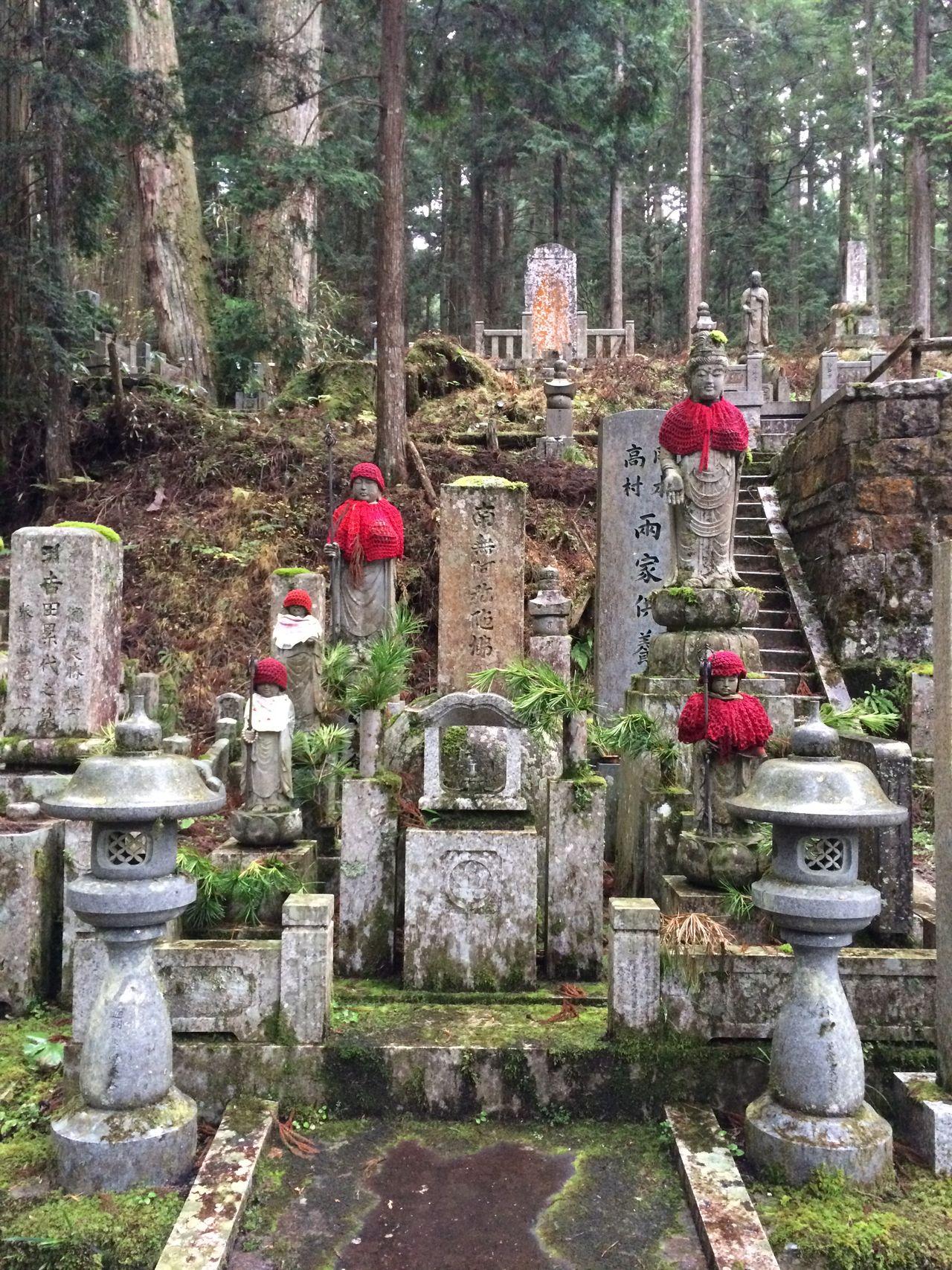Beauty In Nature Bosatsu Buddhism Buddhist Buddhist Temple Japan Jizo Jizobosatusu Koyasan Mount Koya Nature No People Outdoors Red Red Bib Shinto Shinto Shrine Shinto Temple Shintoism Shrine Shrine Of Japan Shrines & Temples Shrines And Temples Stone Material Tree