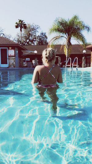 Paradise Swimming Pool Vacations Summer Bikini Sunlight Bliss EyeEmNewHere