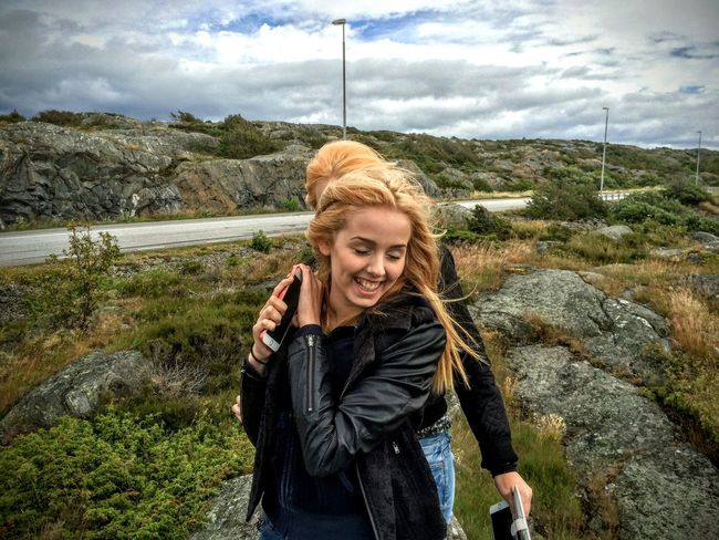 In The Moment Joyful Eyeemphotography People Photography Girls Hiking Enjoying Life Archipelago Let Your Hair Down Öckerö Sweden-landscape Landscape People Up Close Street Photography Landscape_Collection Women Who Inspire You