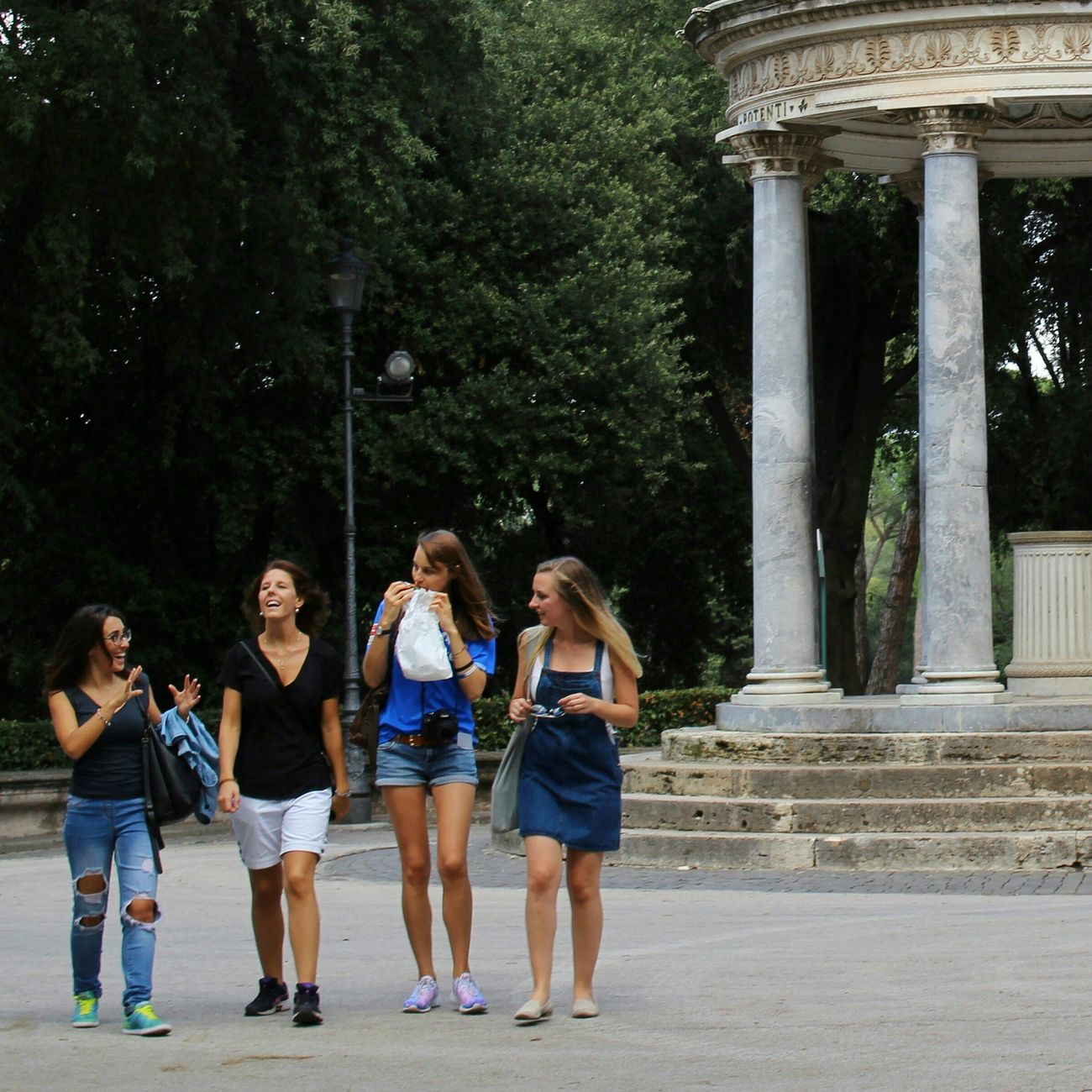 People And Places Outdoors Leisure Activity Villa Borghese Park Rome Italy🇮🇹