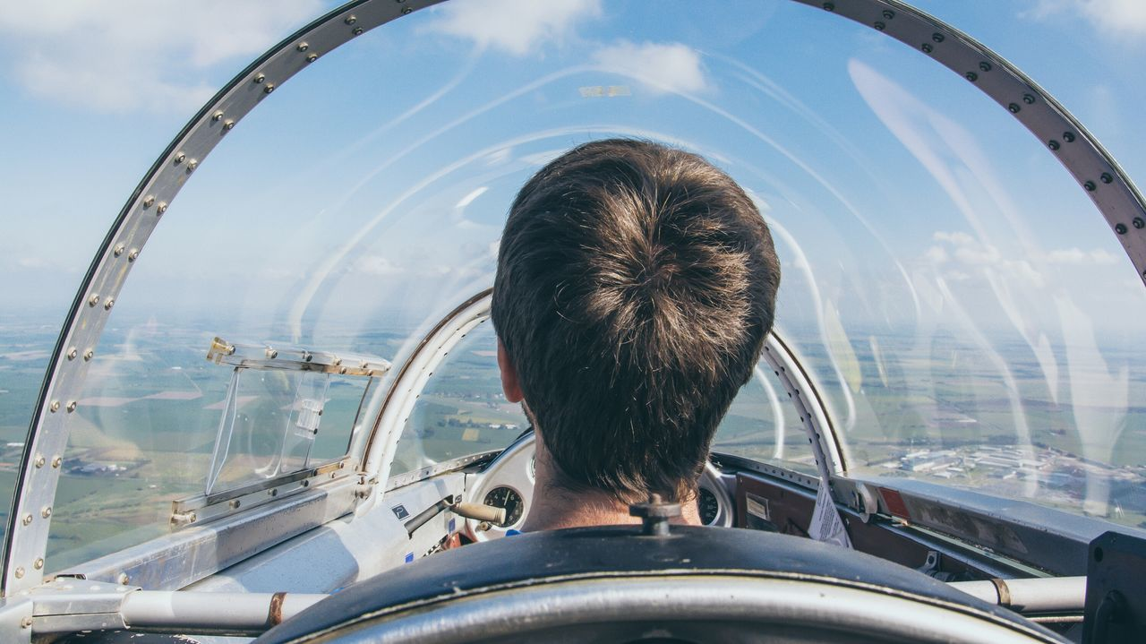 Beautiful stock photos of plane, Air Vehicle, Airplane, Cockpit, Day