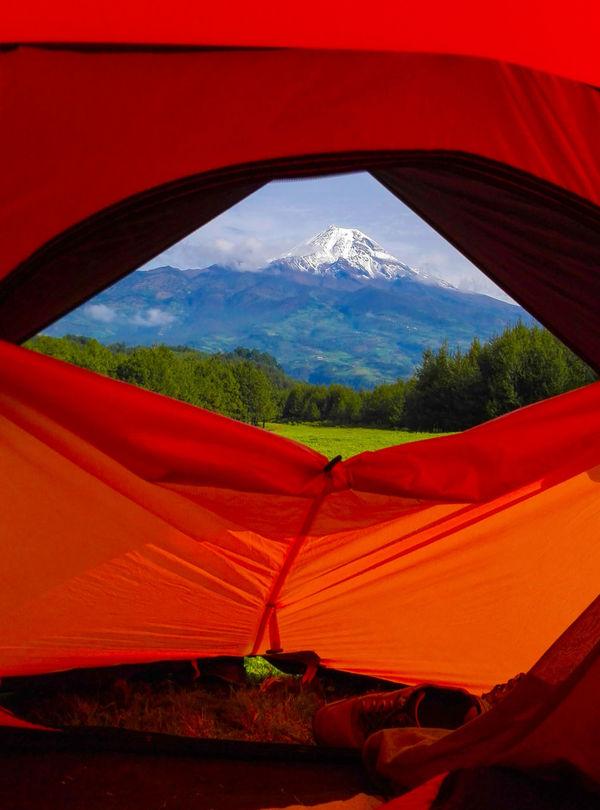 Amanecer con la mejor vista! Citlaltepetl Volcán Pico De Orizaba Camping Orion First Eyeem Photo