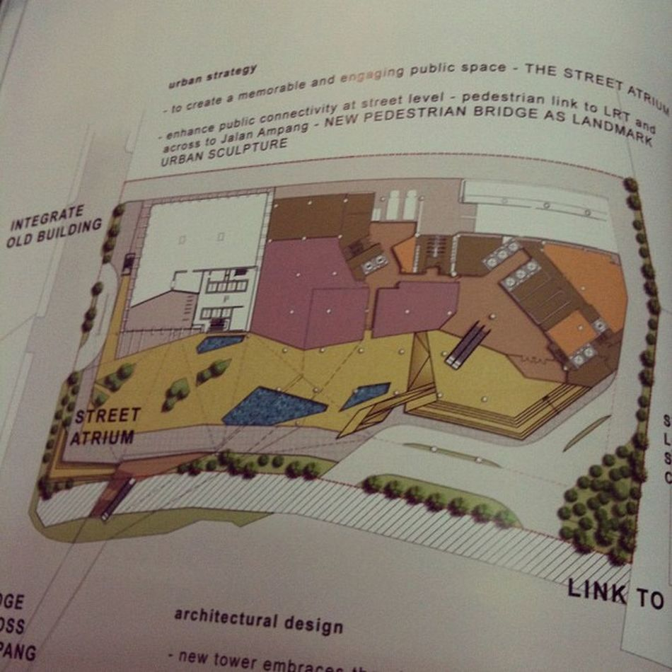 This is what I missed. A total architectural design.