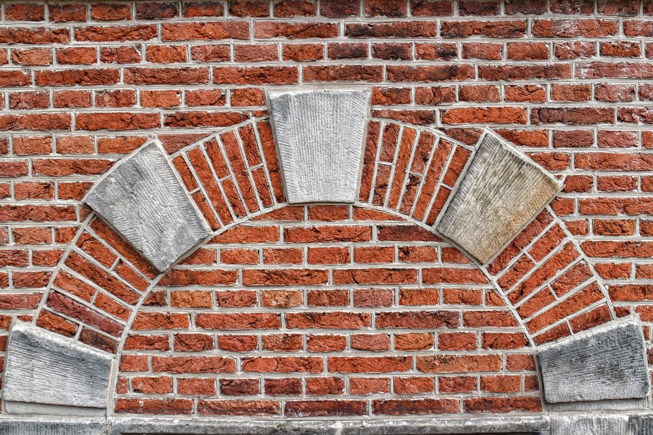 Brick Wall Pattern Arch Architectural Feature Architecture_collection Architecture Architectural Detail Built Structure Architecture Textured  Close-up