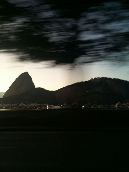Riodejaneiro Sugarloaf Praiadebotafogo Speed Cab Taxi Nightphotography
