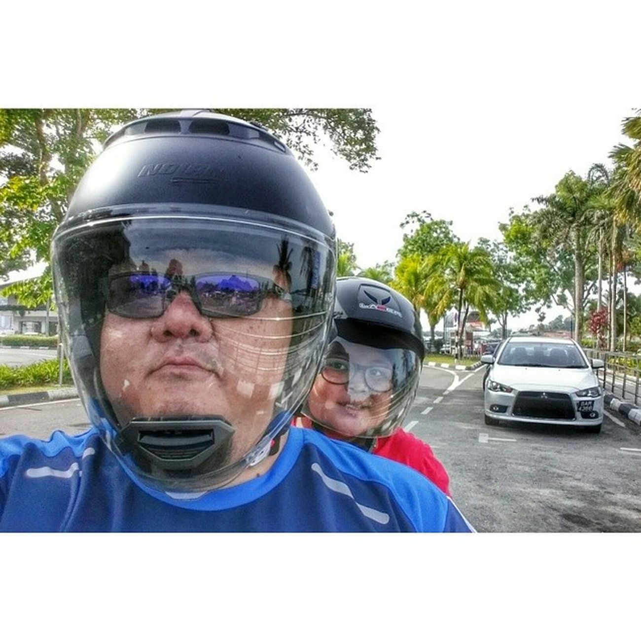 Bonceng breakfast ride with da little guy Weekend Brunei Wearehappybrunei HappyBrunei happybn bruneiunited HappeningsBN InstaBruDroid Andrography