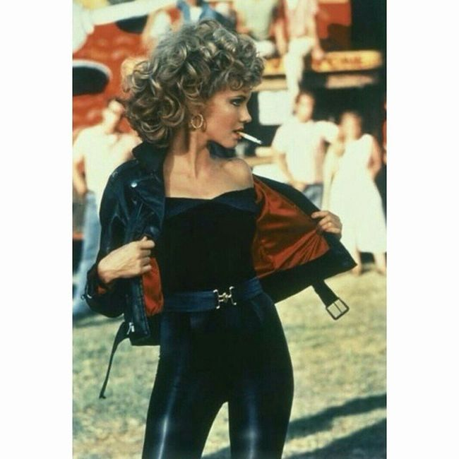 """""""Tell me about it, Stud """" Grease Sandy Olivianewton Hollywood Cinema"""
