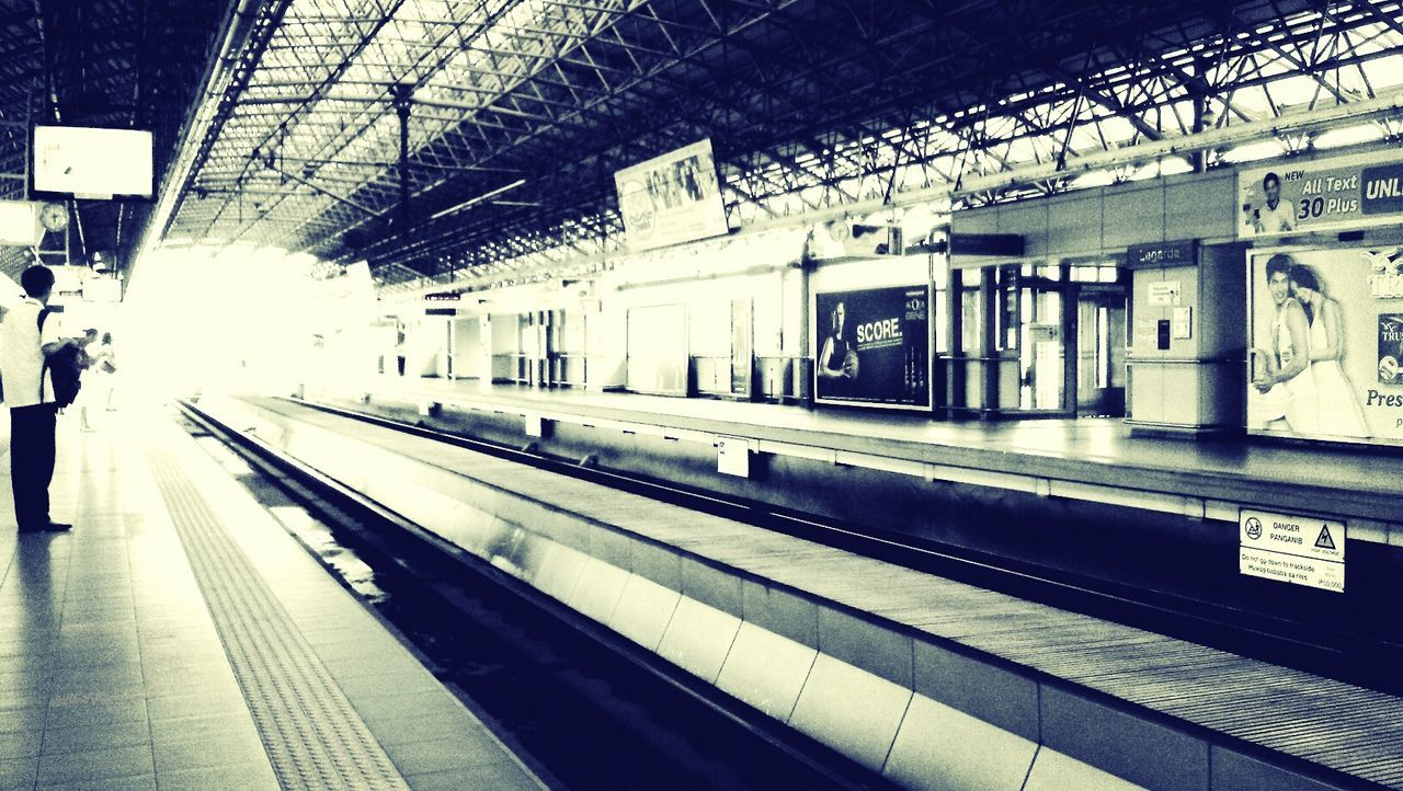 Sentimental Public Transportation Commuting Train Ride