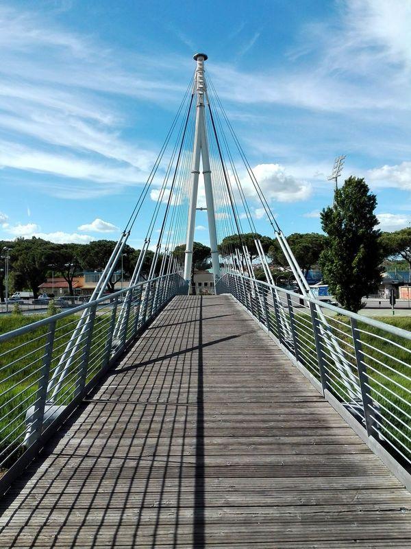 Cloud - Sky Suspension Bridge Empoli Italy🇮🇹 Bymobile EyeEmNewHere Architecture