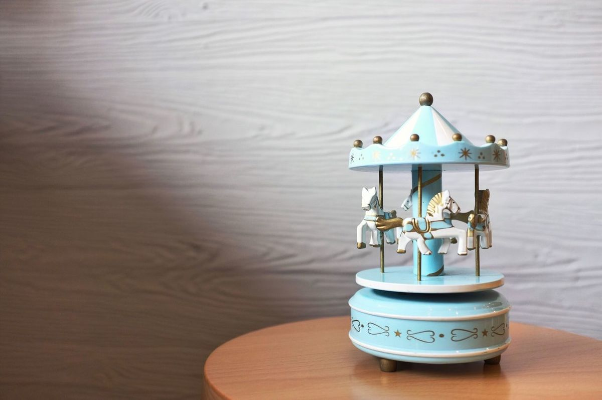 Carousel music box No People Carousel Music Box Musicbox Toy Childhood First Eyeem Photo