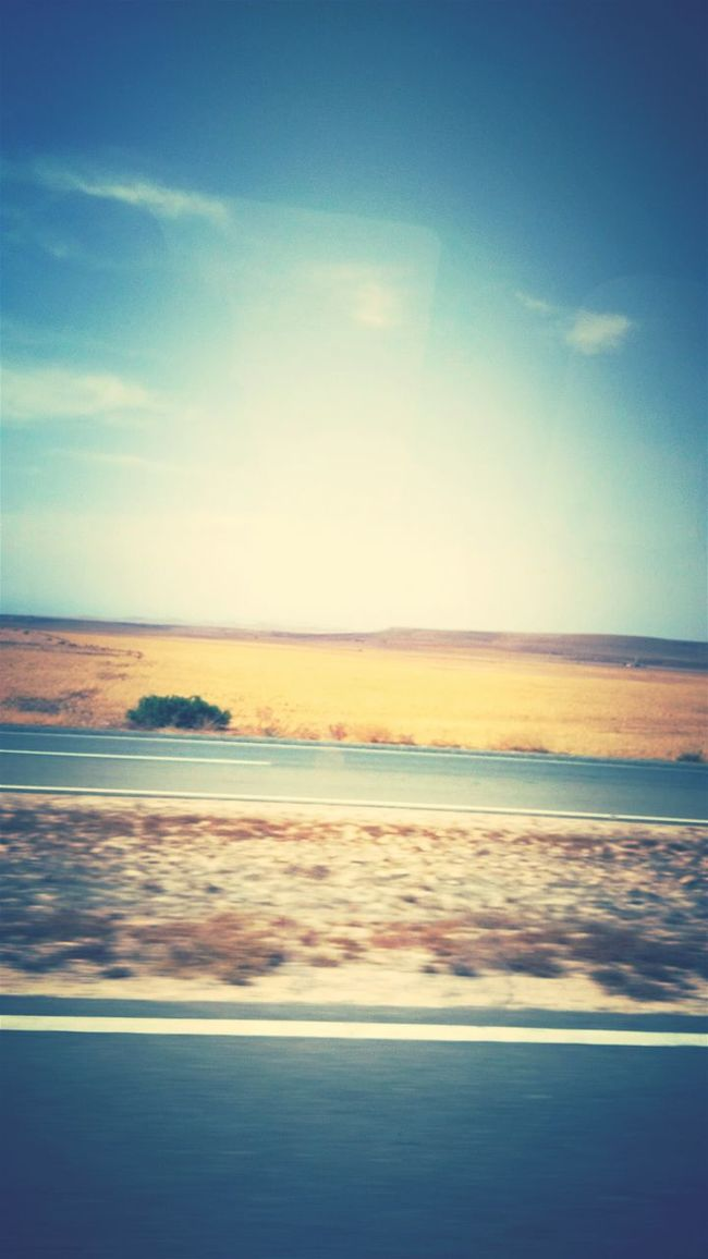 Roadtrip Morocco Planes Hot 41°C Driving Road