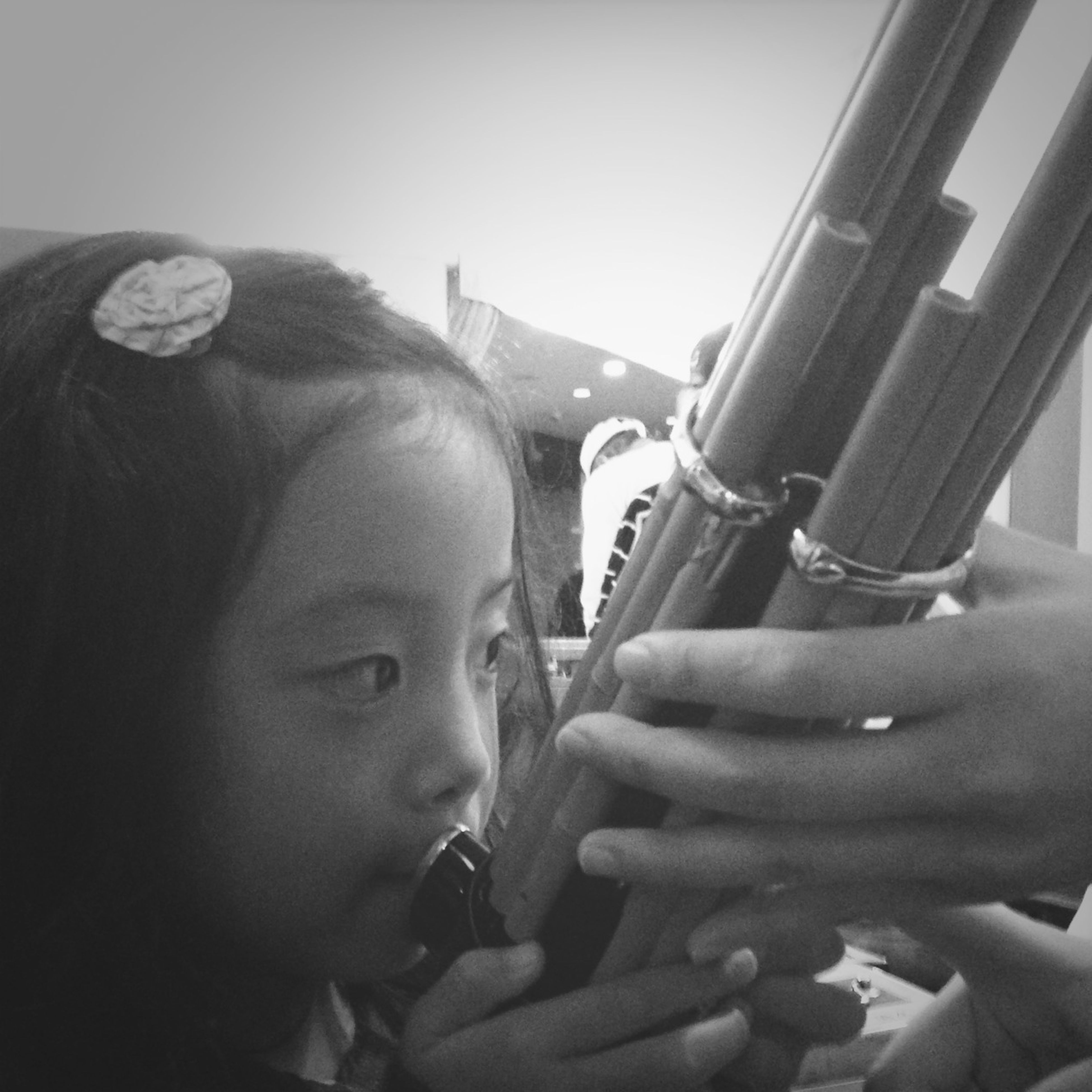 """My daughter learned how to play the japanese traditional instrument """"SYOU"""". My Daughter Playing Music"""