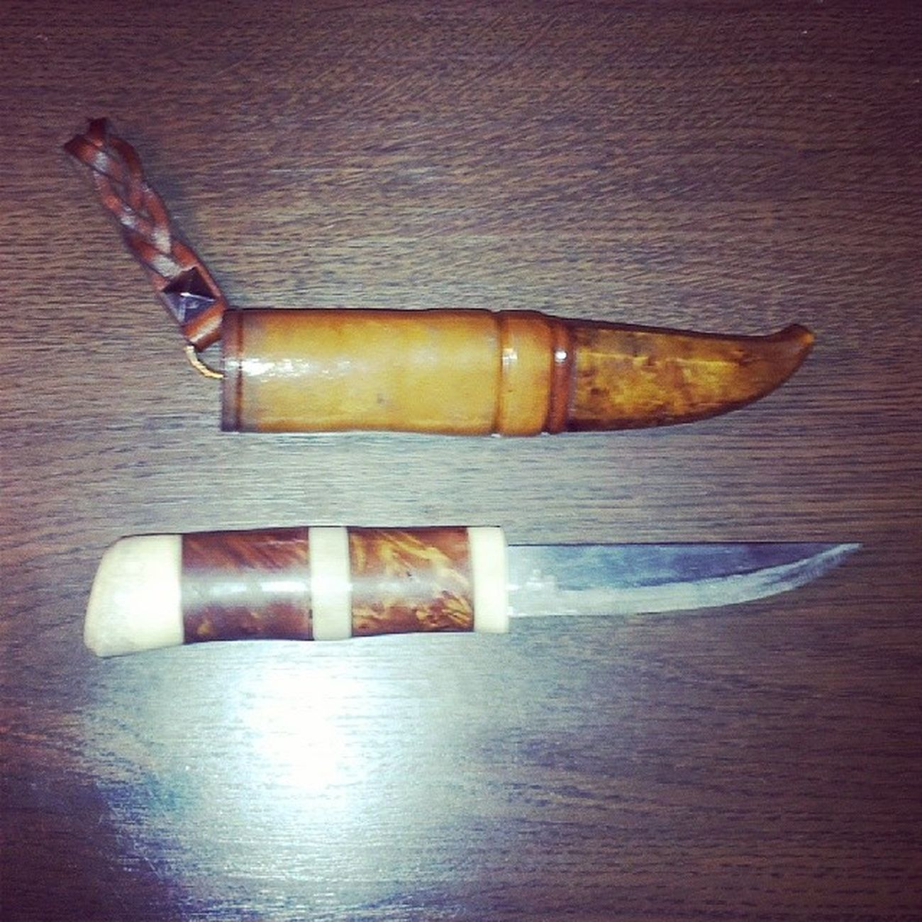 Fått en egen kniv, gjord av legendariske Sune Nilsson!! Stort tack :) Knife Timeforfishing Fishing