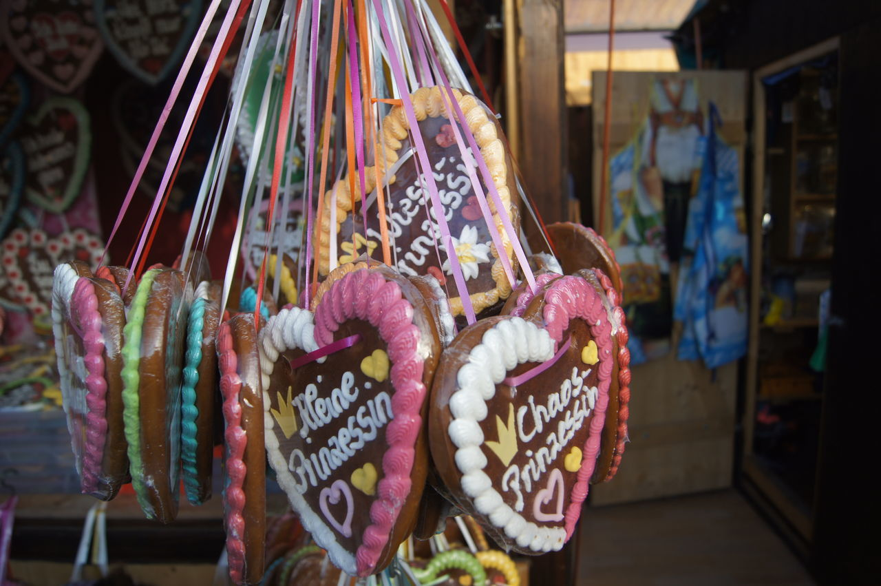 Beautiful stock photos of oktoberfest, Focus On Foreground, For Sale, Gingerbread Cookie, Hanging