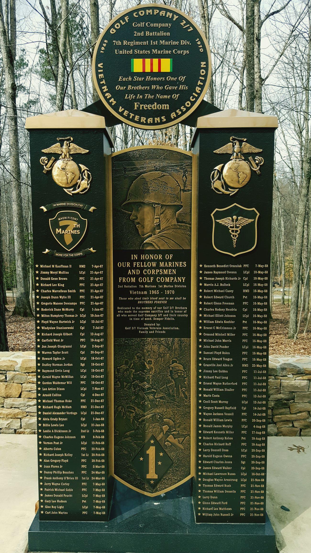 Marine United States War Memorial Vietnam Vietnam War Memorial