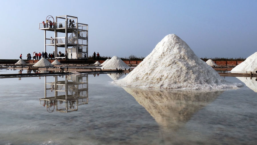 Blue Sky Nature No People Outdoors Salt Salt - Mineral Sky Taiwan Water